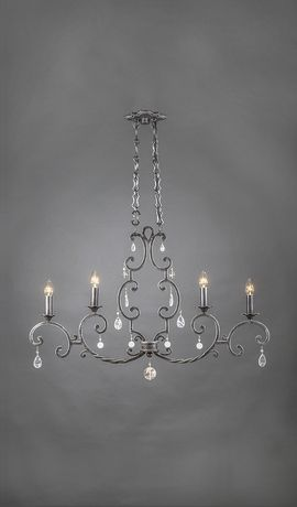 amadora vintage wrought iron crystal chandelier 4 light lighting rh pinterest co uk
