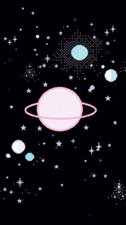 Tumblr space planet iphone wallpaper   WALLPAPERS   Pinterest  Space planets, Wallpaper and