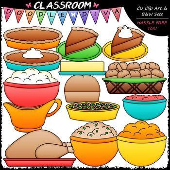 41++ Thanksgiving dinner clipart free ideas