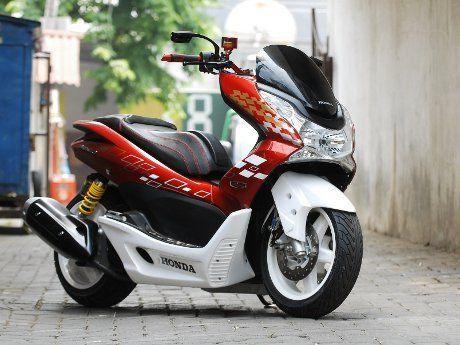 Modifikasi Motor Honda Pcx
