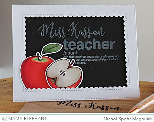 Mama Elephant Stamp Highlight