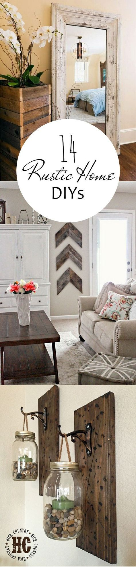 DIY projects easy DIY rustic home farmhouse
