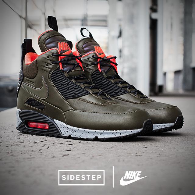 Nike Air Max 90 Sneakerboot @SIDESTEP