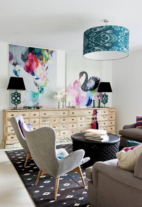 living room palette love the rich colors peacock blue deep pink rh pinterest com