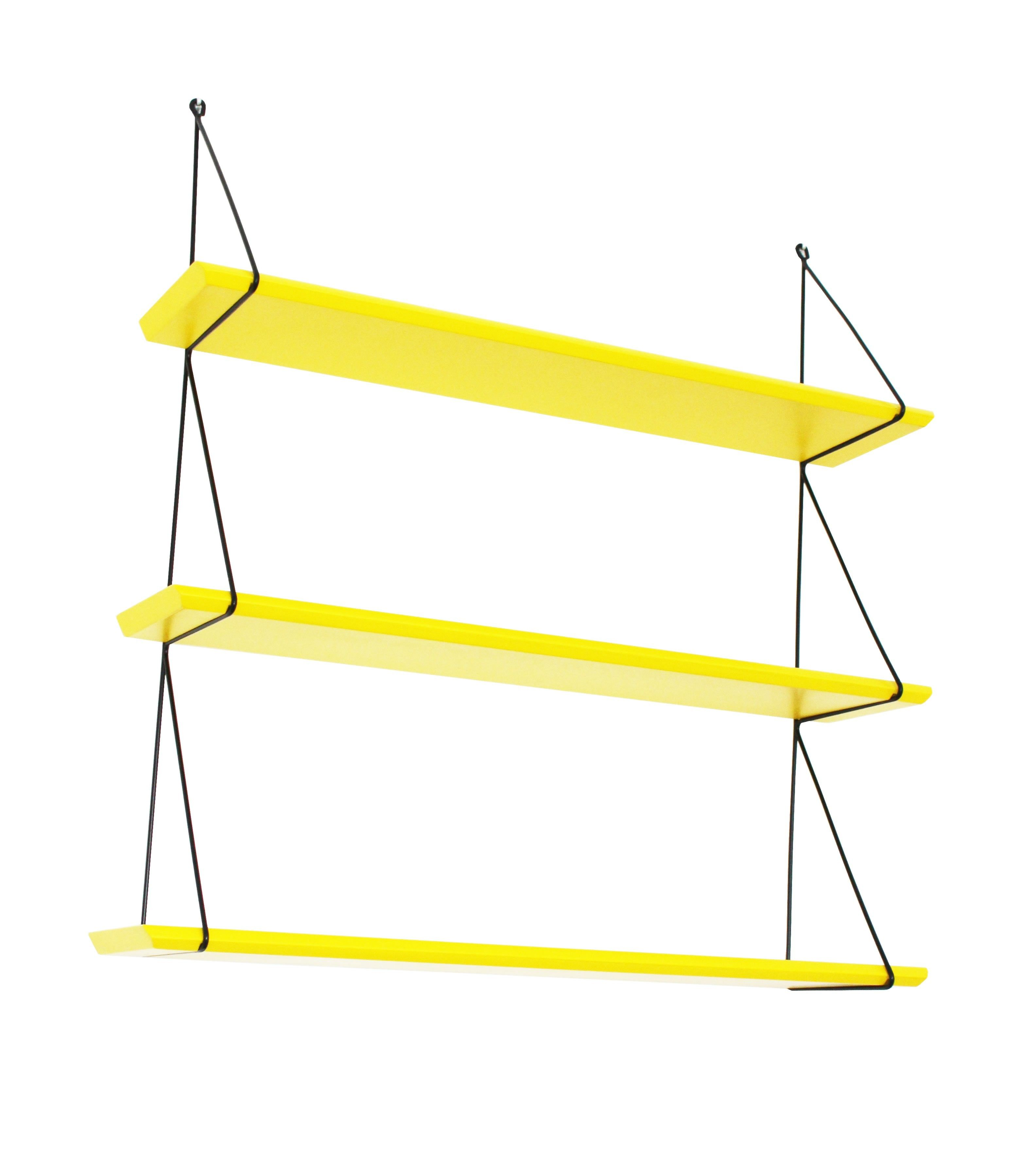 Rose in April Babou Wall Shelf - Lemon Yellow   living room ideas ...