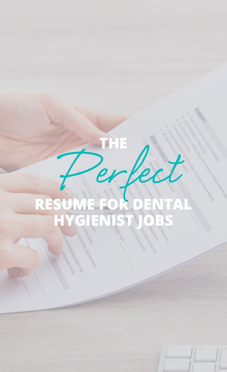 Aspiring Dental Hygienists See What You Should Include On Your