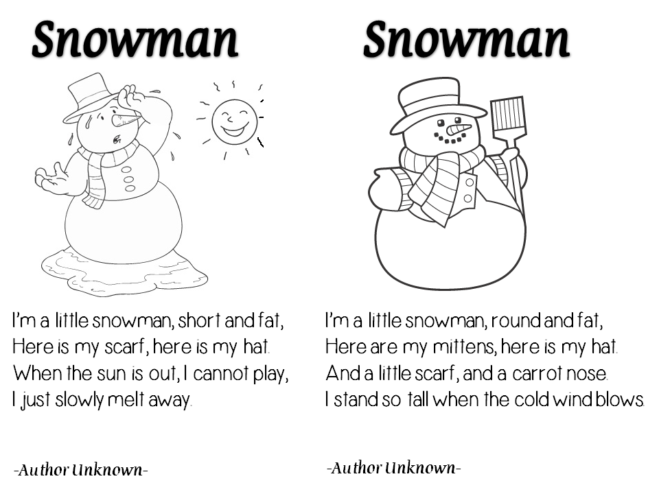 Enjoy Teaching English: WINTER POEMS (part 1) | school | Pinterest ...