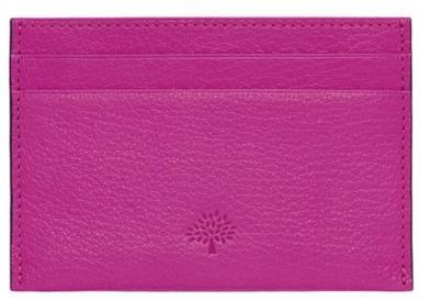 This cute and pink #Mulberry #cardholder is the ideal place to keep your cards!