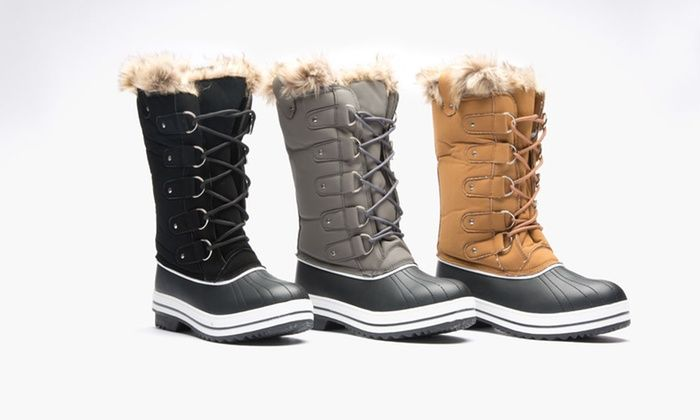 8987ae2dc Sociology Women's Tall Cold Weather Boot | Groupon Exclusive (Size 6 ...