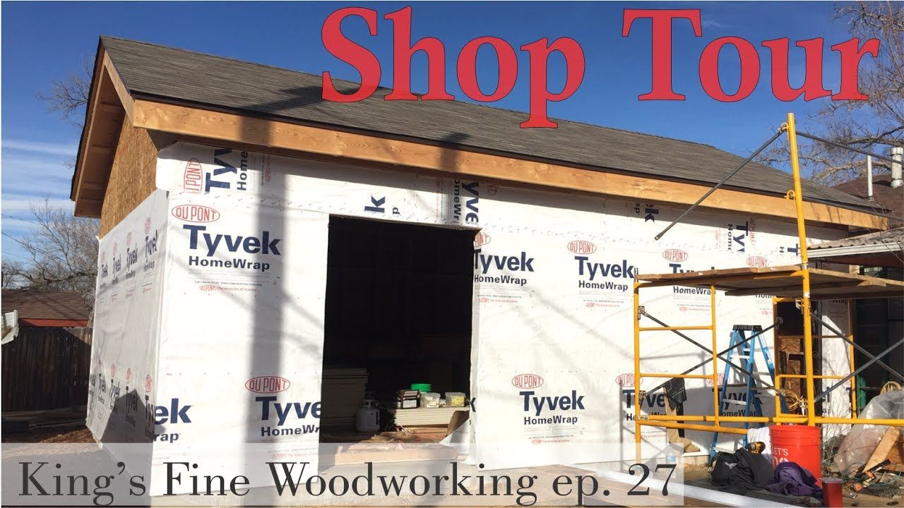Woodworking Shop Tour King S Fine Woodworking Woodworkers