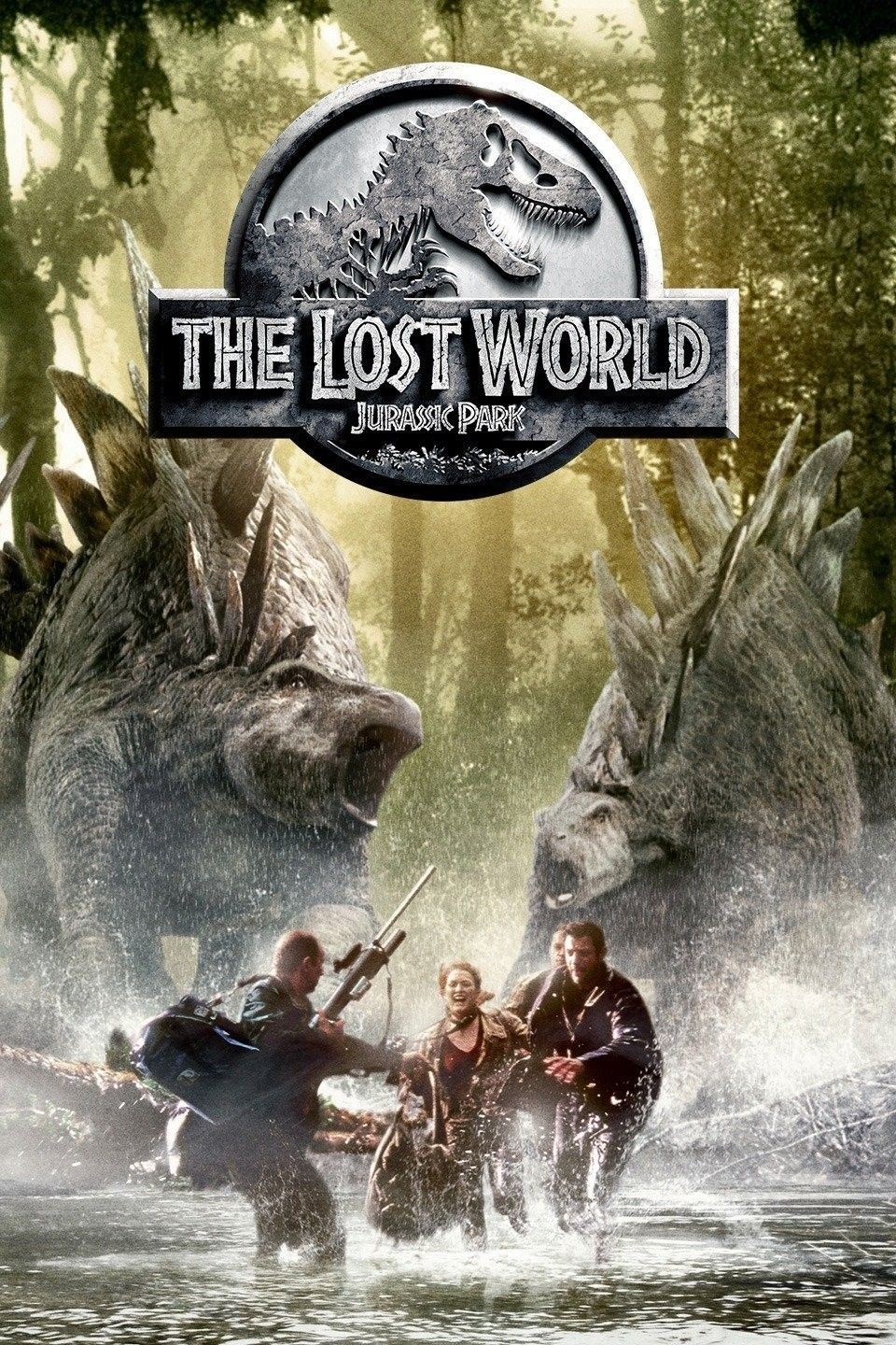 The Lost World Jurassic Park (1997) Jurassic park dvd