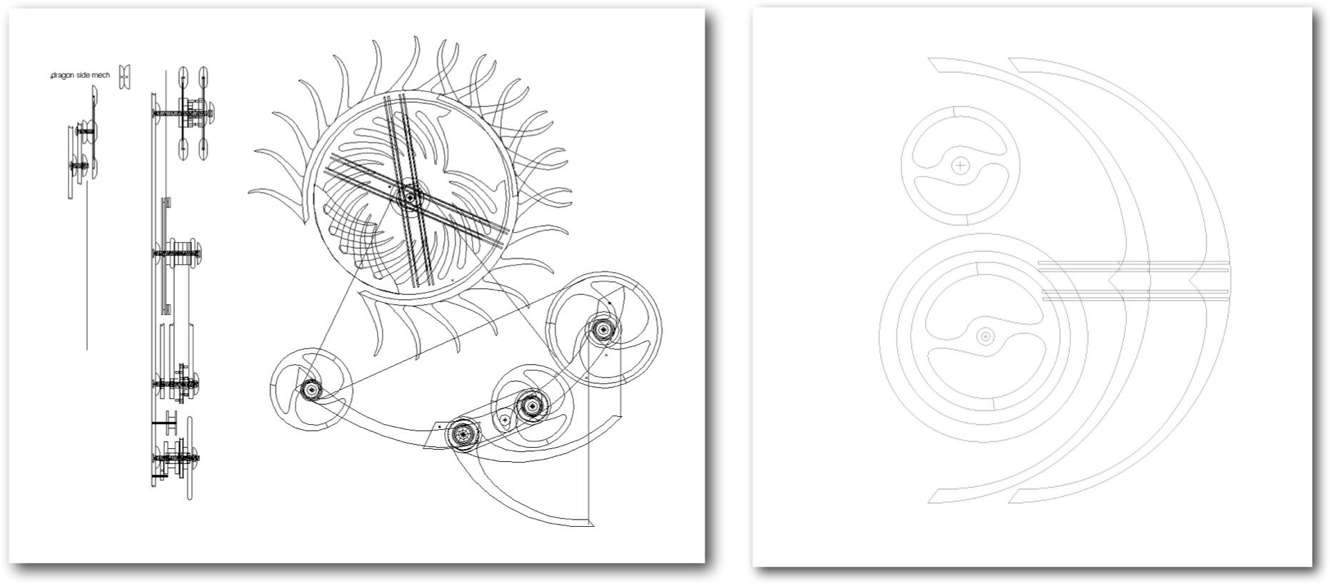 Design Drawings Completed By Kinetic Sculptor David C Roy Of Wood That Works Kinetic Sculpture Kinetic Art Sculpture