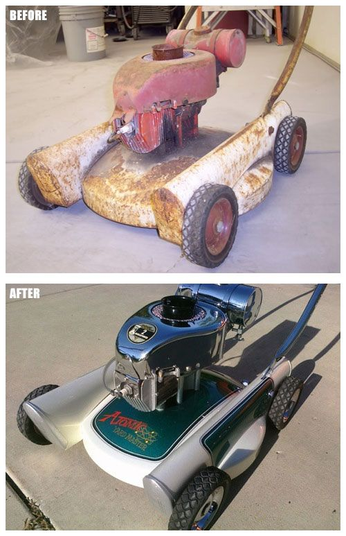 Pin By Small Engine Parts Warehouse On Custom Lawn Mowers