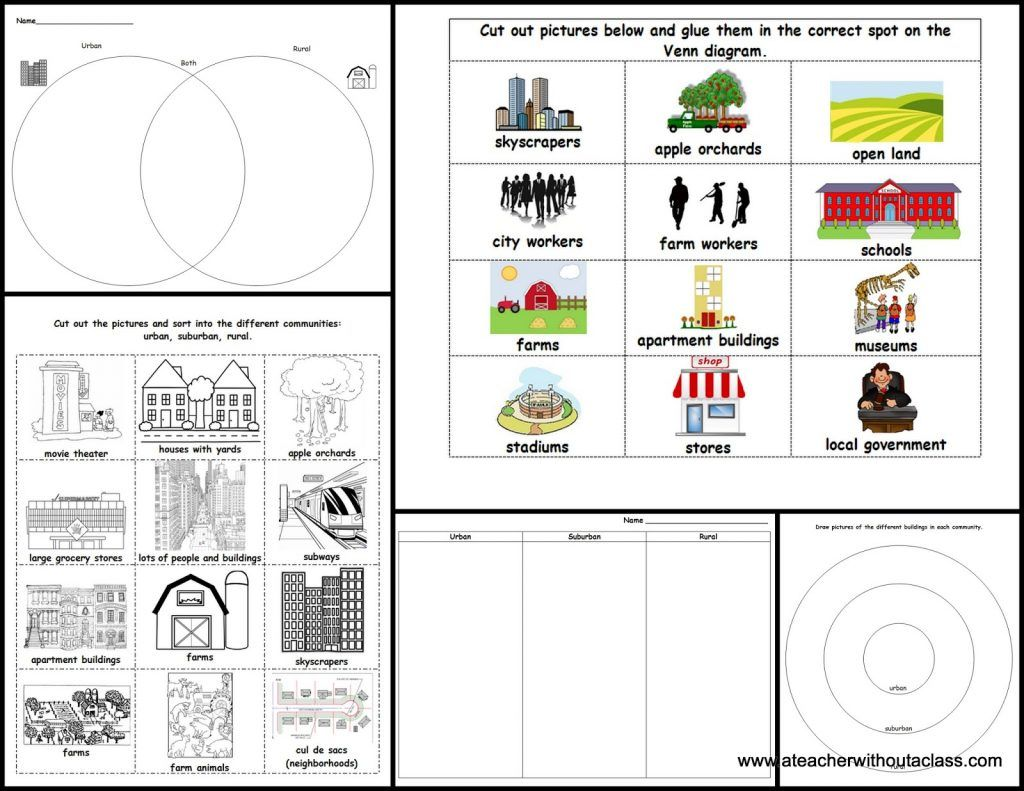 Free 1st Grade Social Stu S Worksheets Pictures