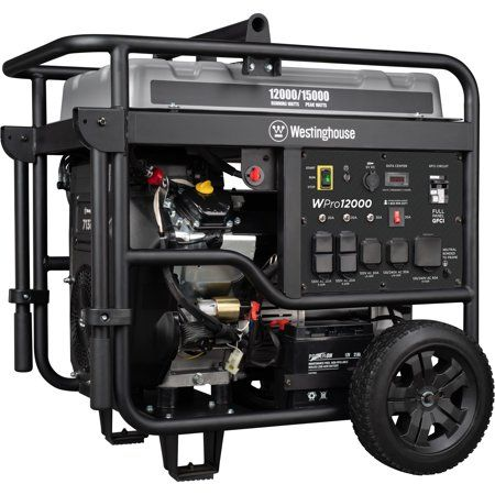 Westinghouse WPro12000 Gas Powered Portable Industrial