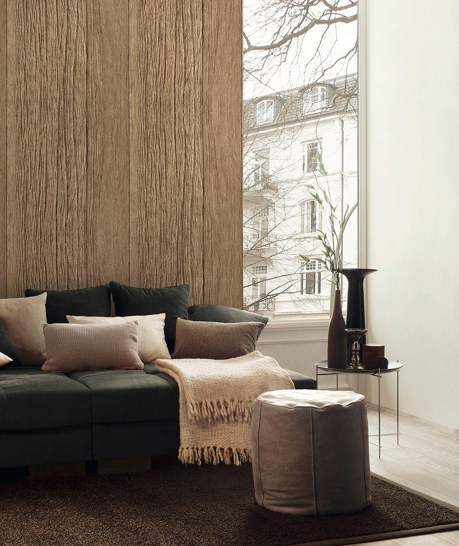 Decoworld 2 präsentiert diese schöne Holztapete; A.S. Création ...