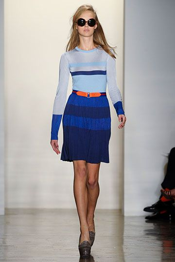 Peter Som Spring 2012 RTW - love the blue and orange combo.