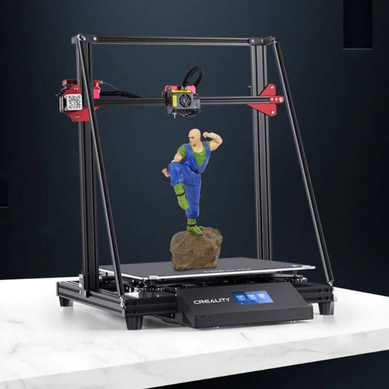 Der Creality CR10 Max 3DDrucker mit riesigem Bauraum für