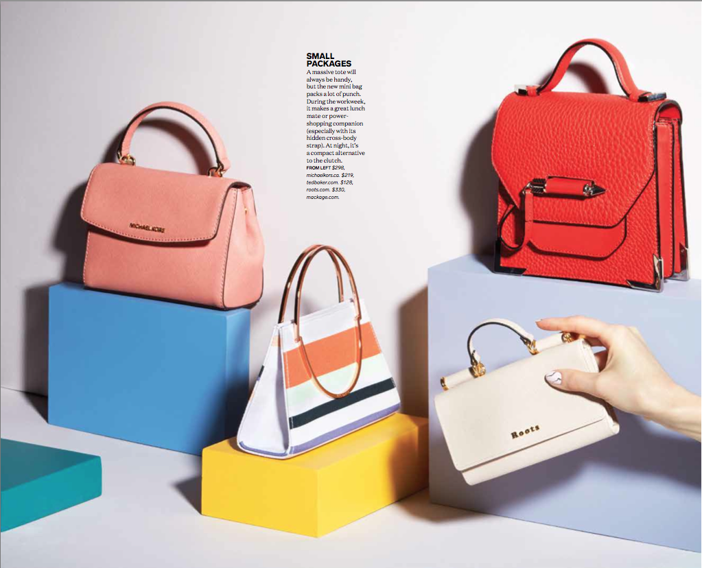 Spring Accessories Fresh Picks Chatelaine Editorial Photography By