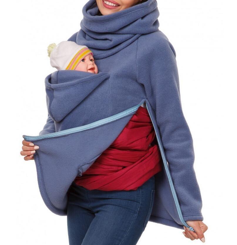 Maternity Kangaroo Hooded Baby Carriers