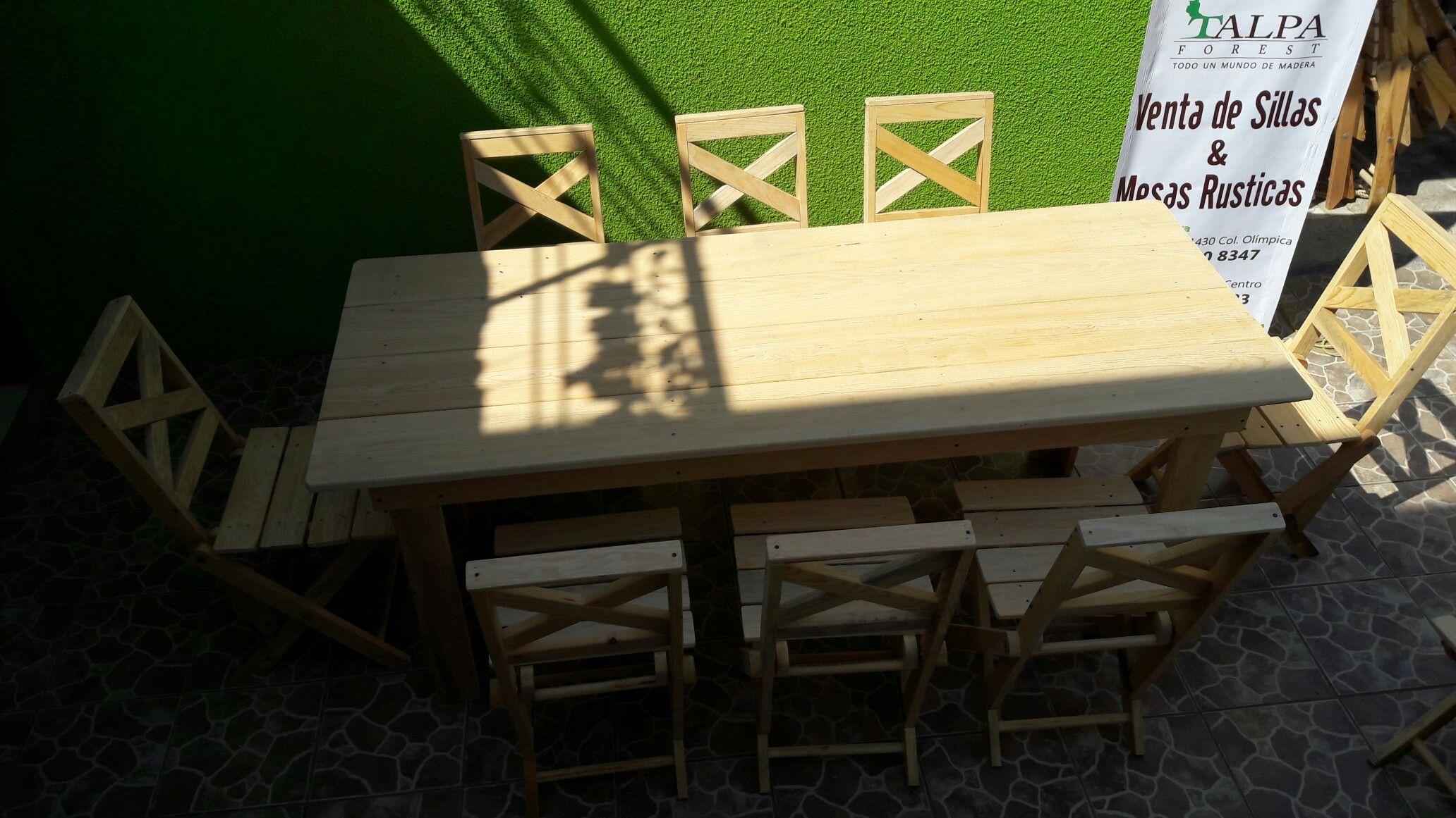 Sillas y mesas | sillas de madera plegables | Pinterest | Sillas de ...