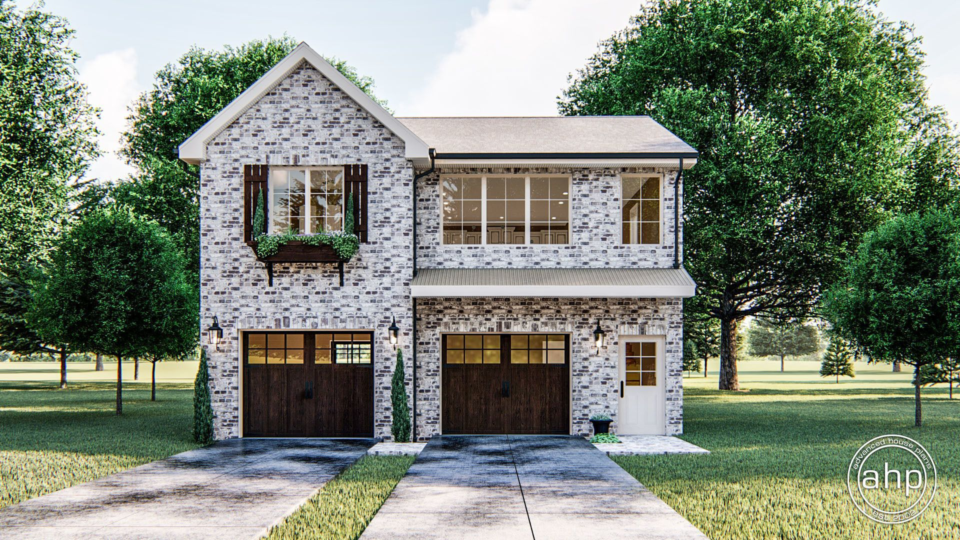 Traditional Style Carriage House Riesling In 2020 Advanced House Plans Garage Apartment Plans Beautiful Apartments
