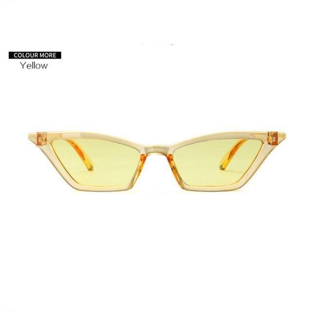 09f893245b Tiny Small Retro 90s Sunglasses Cat Eye in 2019