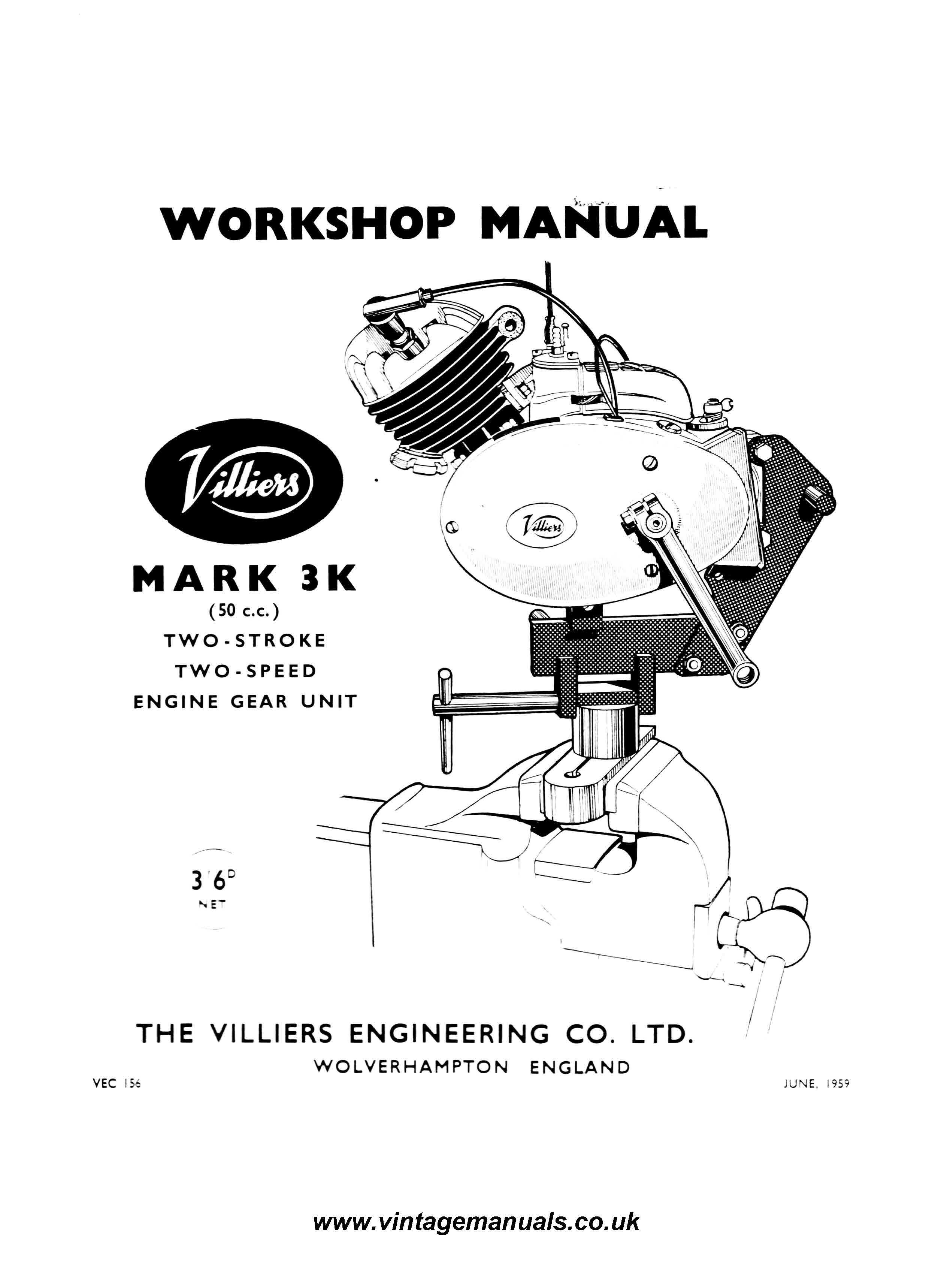 villiers mk3 f motorcycle engine workshop service and repair manualvilliers mk3  [ 2480 x 3437 Pixel ]