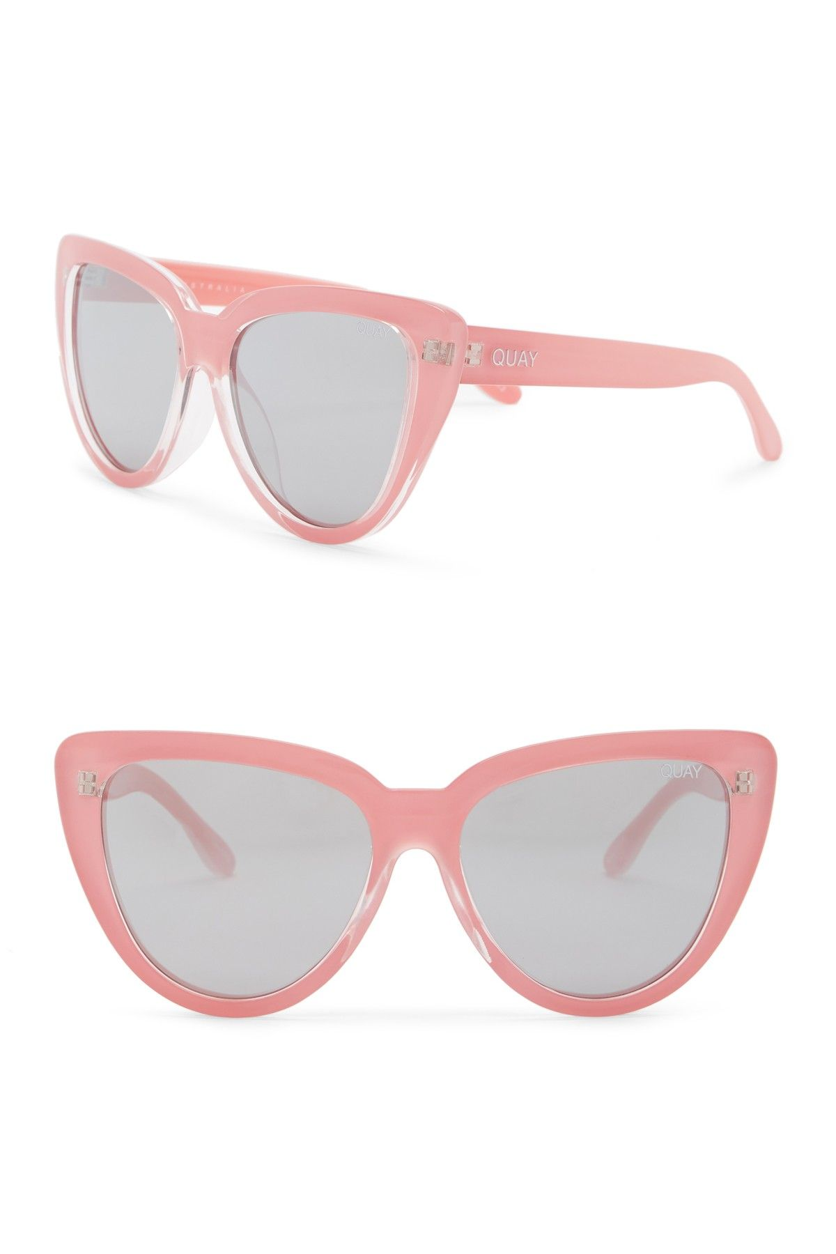 9edfaeb61b65a1 QUAY AUSTRALIA - Women s 60mm Stray Cat Cat Eye Sunglasses is now 50% off.