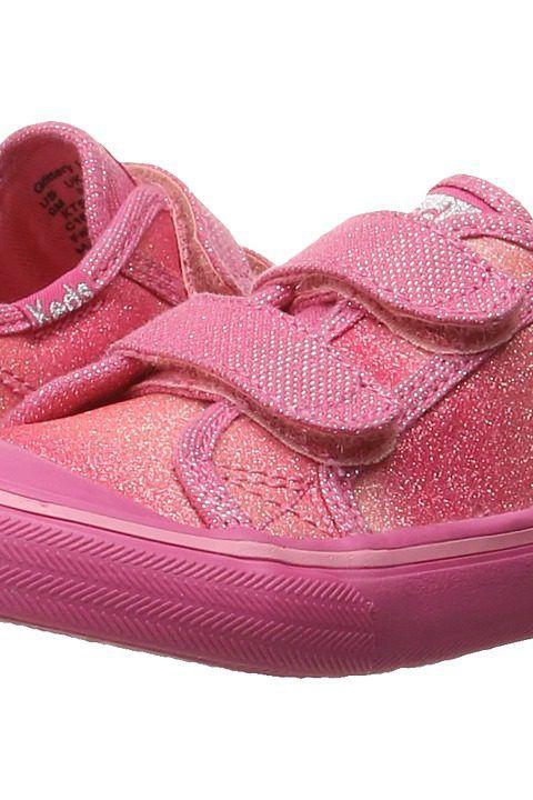 Keds Kids Glittery HL (Toddler/Little Kid) (Pink Sugar Dip) Girls