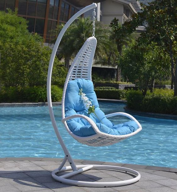 Outdoor rattan swing #chairs    wwwfacebook pages Outdoor
