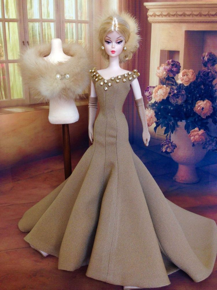Tinnia OOAK for Silkstone Barbie & Fashion Royalty | Barbie ...