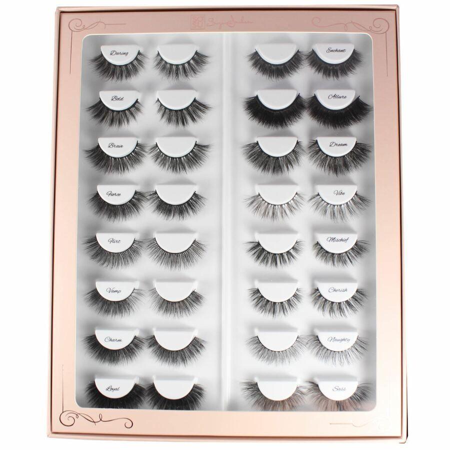 94dfd041b39 SOSU by SJ The Lash Bible Set 16 Sets of False Eyelashes Boxed Gift  5391018048760 eBay#Bible#Set#SOSU