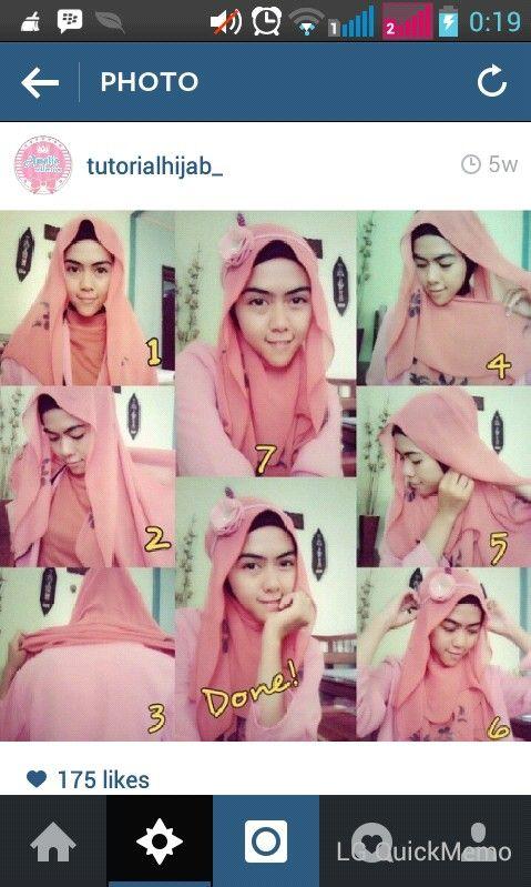 Hijab tutorial #simple