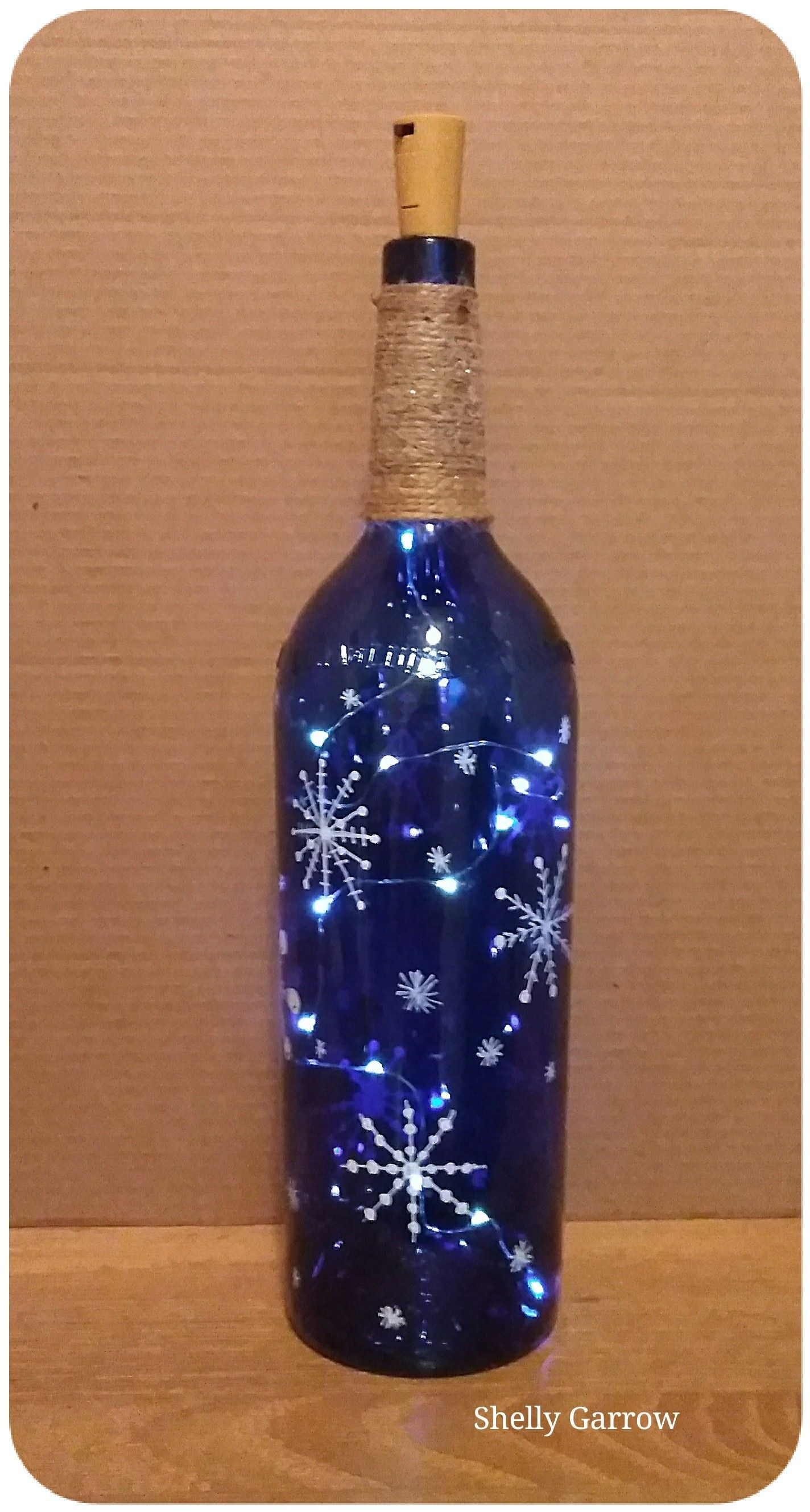 Diy Projects With Wine Bottles Recycled Glass Bottles Lighted