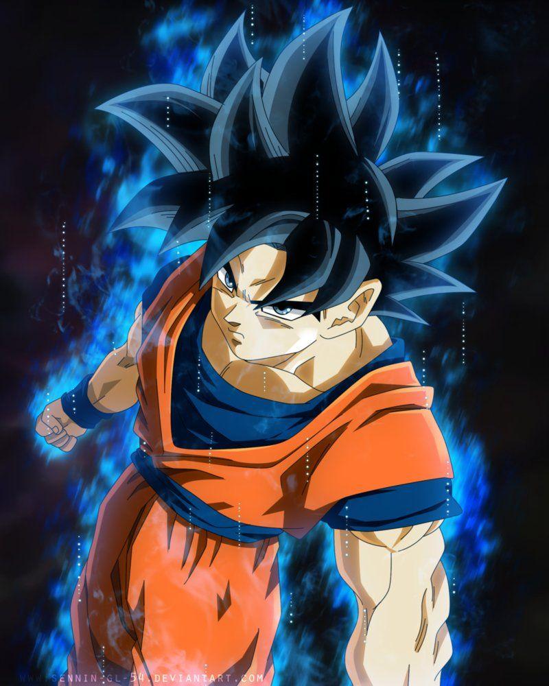 Goku New Form By Sennin Gl 54 Goku New Form Anime Character Design Goku