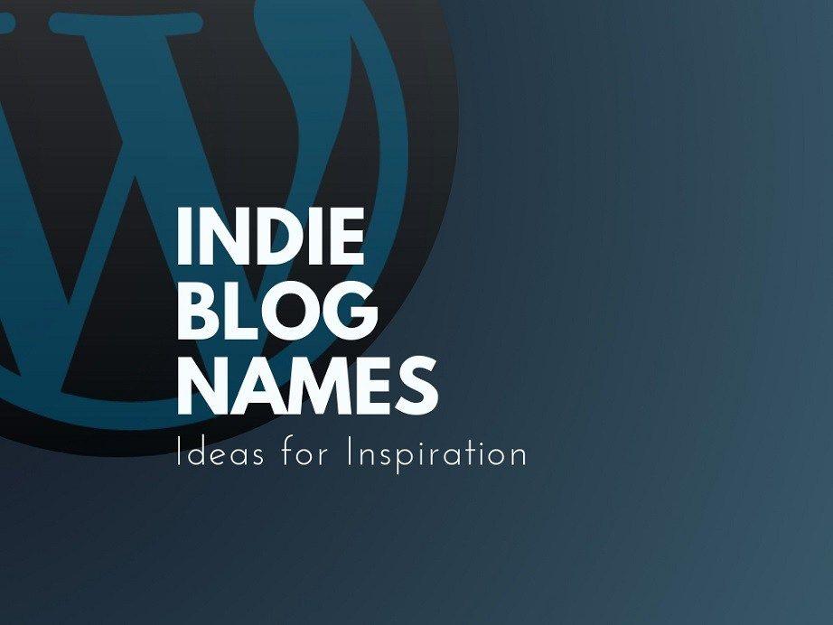Unique indie Music blog names | Blog names ideas | Blog