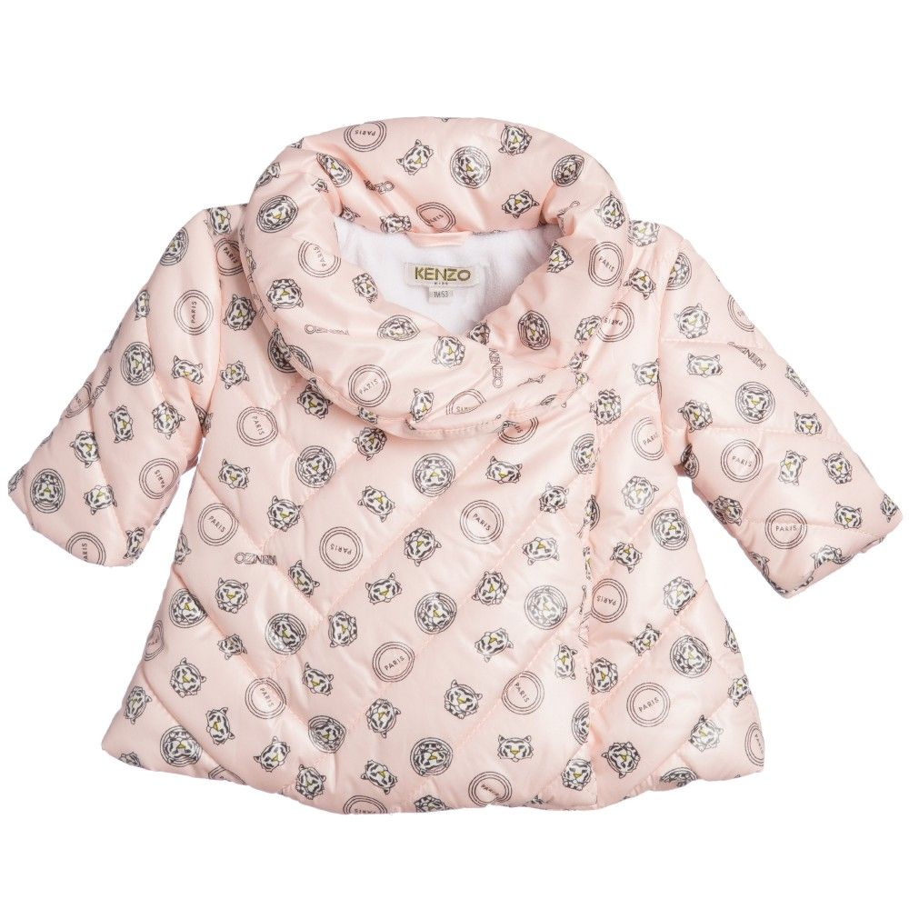 cdf0f946d Baby Girls Pink Padded Jacket
