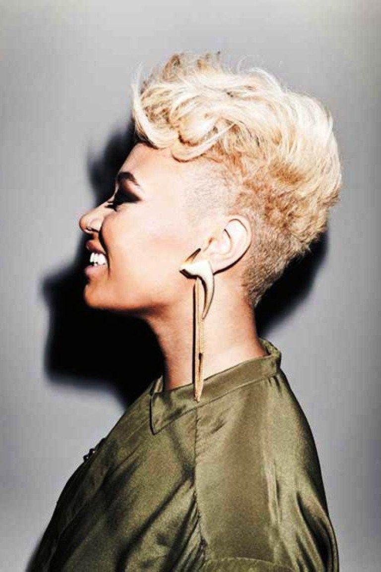 Short blonde hairstyles for black women Überprüfen sie mehr unter