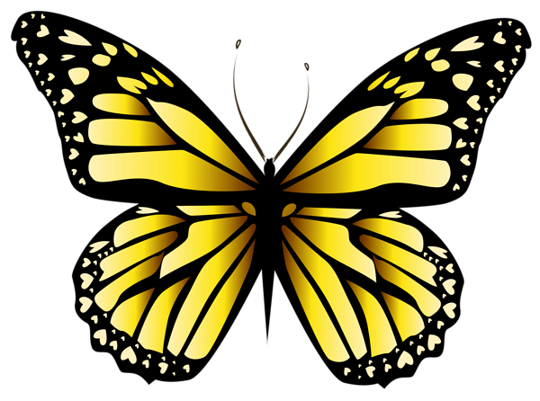 yellow butterfly png clipar image proyectos que intentar