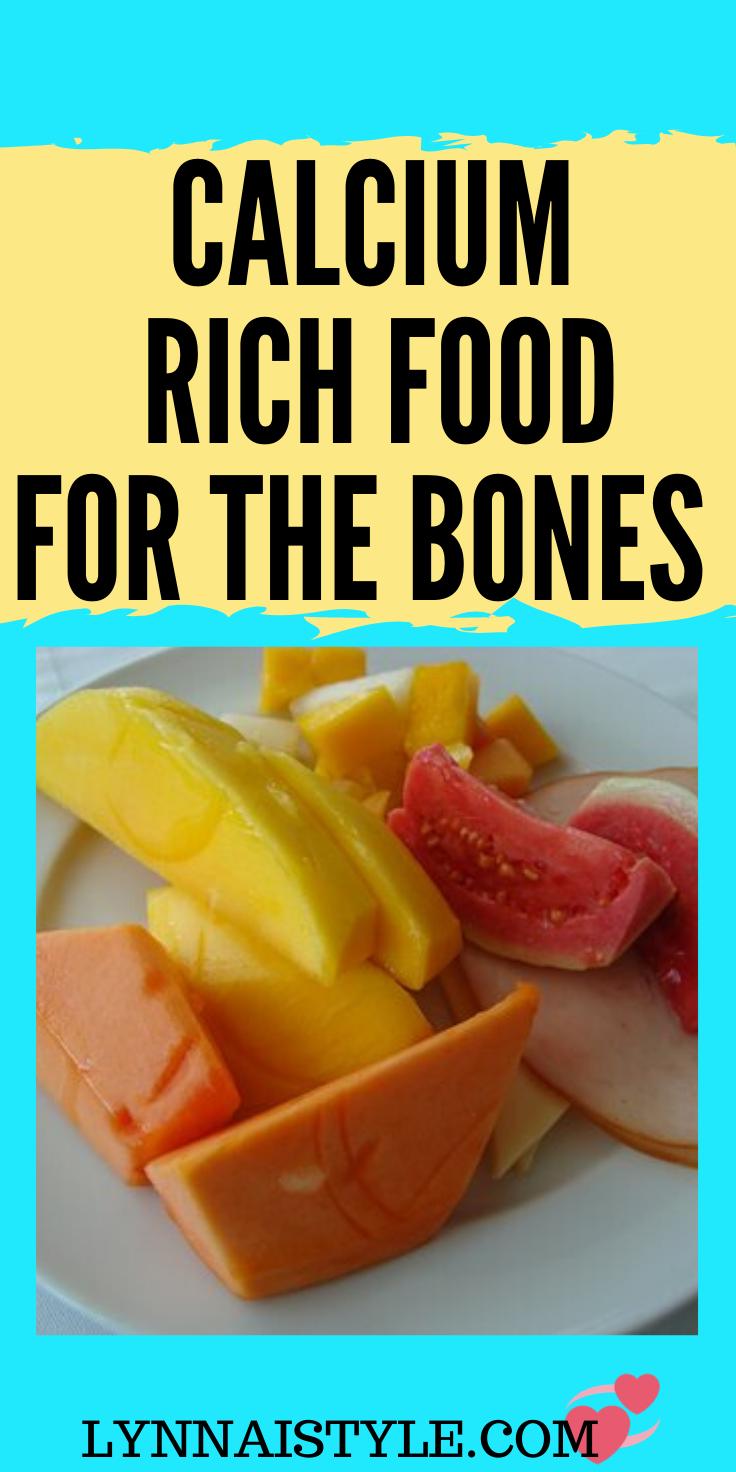 11 Effective Calcium rich foods for bones Calcium rich