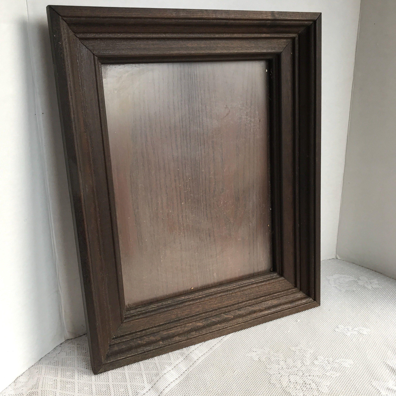 Vintage Wood Picture Frame Vintage 9 X 12 Inch Wooden Frame Wood Picture Frames Picture Frames Vintage Wood