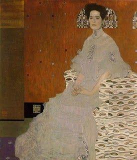 Portrait of Fritza Riedler  Gustav Klimt