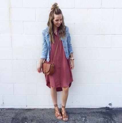 59+ Trendy Dress Modest Summer Jean Jackets -   16 dress Modest jean jackets ideas