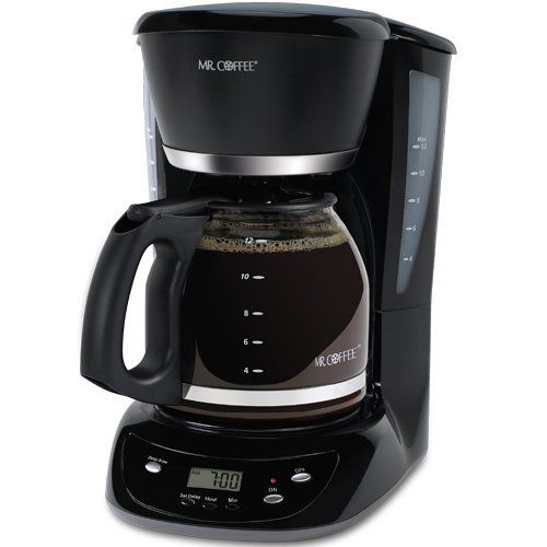 Mr Coffee Chx23 12 Cup Programmable Coffeemaker Black By Mr Coffee 29 99 Cord Storage Safely Stores Excessco Coffee Maker Mr Coffee Coffee Making Machine