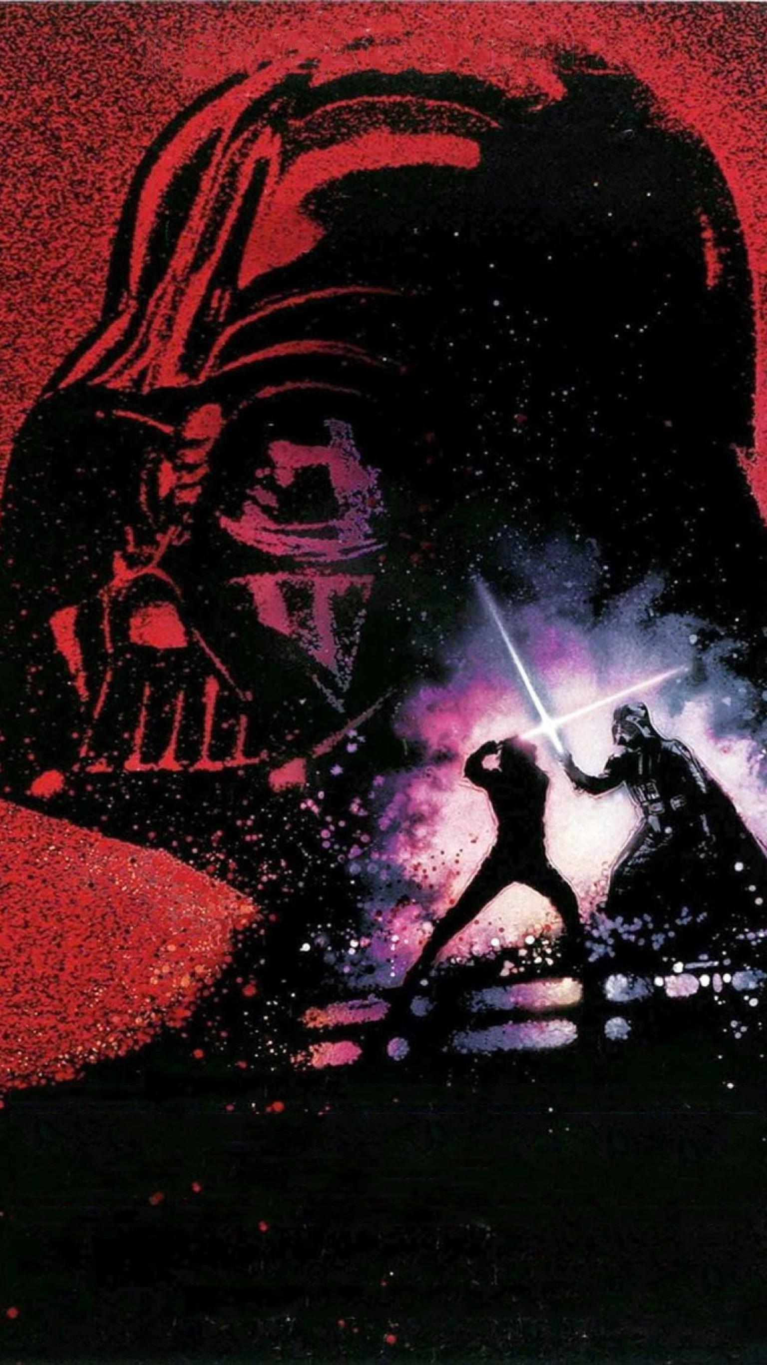 Return Of The Jedi 1983 Phone Wallpaper Star Wars Art Star