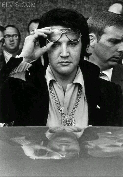 Elvis in 1971