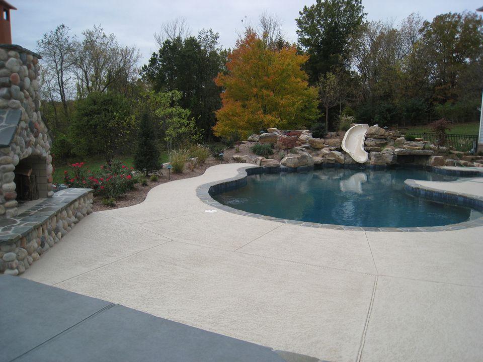 A Pool Deck That Won T Burn Your Feet Application Cool Decking Overlay Pool Deck Pool Decks Pool