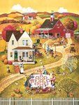 Down Home Quilting Bee (500 Piece Puzzle by SunsOut)
