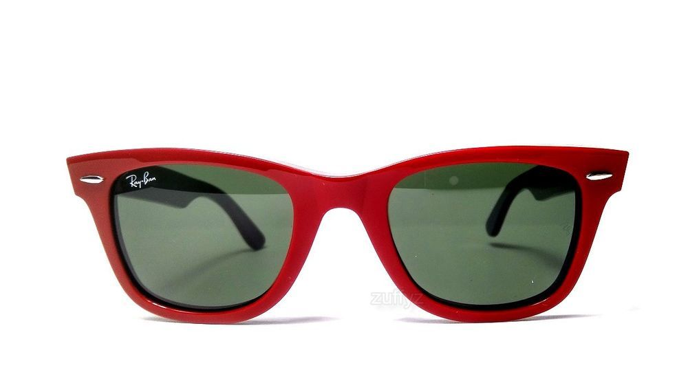 08bd82ac79 Ray Ban Original Wayfarer Red Green Sunglasses 50mm RB2140 955 (eBay Link)